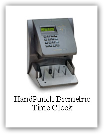 HandPunch Biometric TimeClock